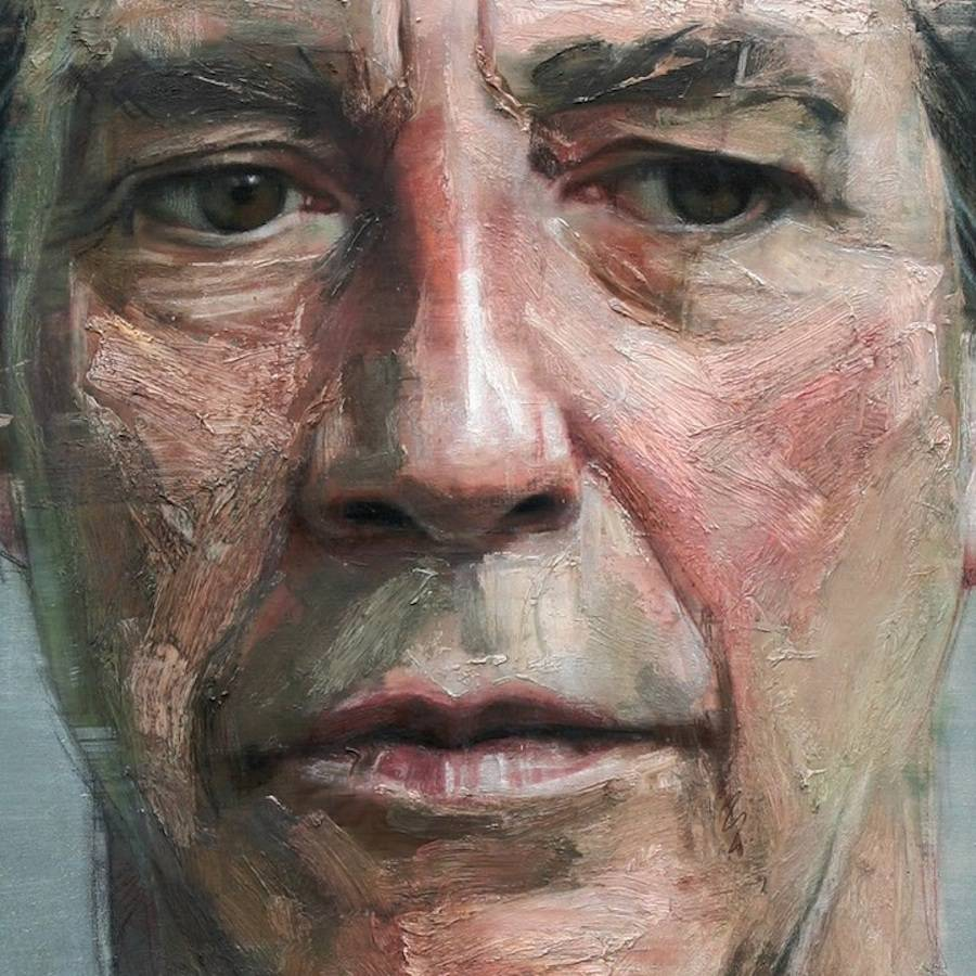 Detailed Paintings of Celebrities by Colin Davidson 77 Wonderful Realistic Paintings of Celebrities by Colin Davidson