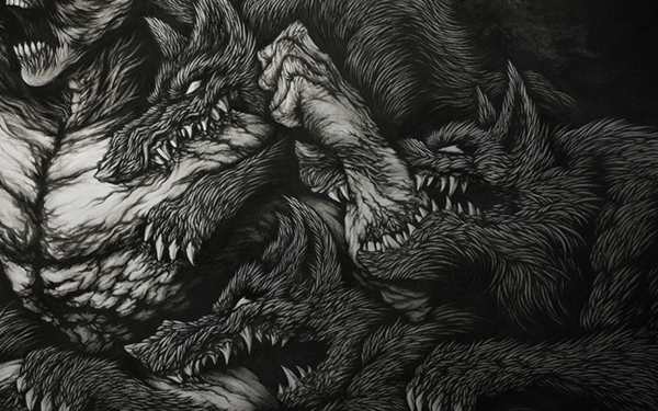 Extreme Detailed Drawing Art Illustrations by Joseph Le 8