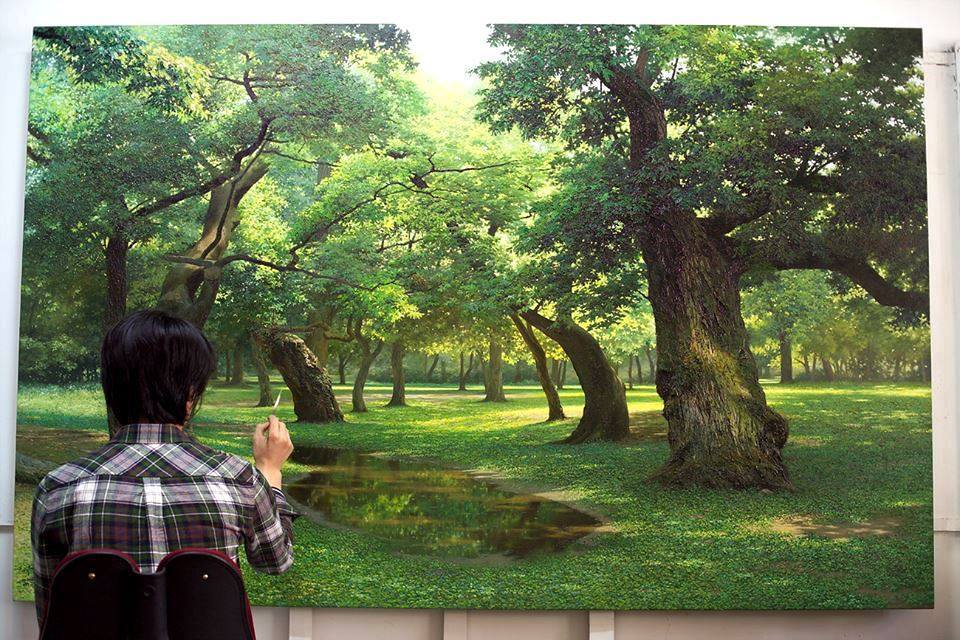 Incredible Nature Painting by Jung Hwan 3 Incredible Nature Painting by Jung Hwan