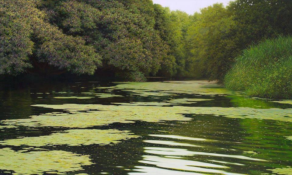 Incredible Nature Painting by Jung Hwan Incredible Nature Painting by Jung Hwan