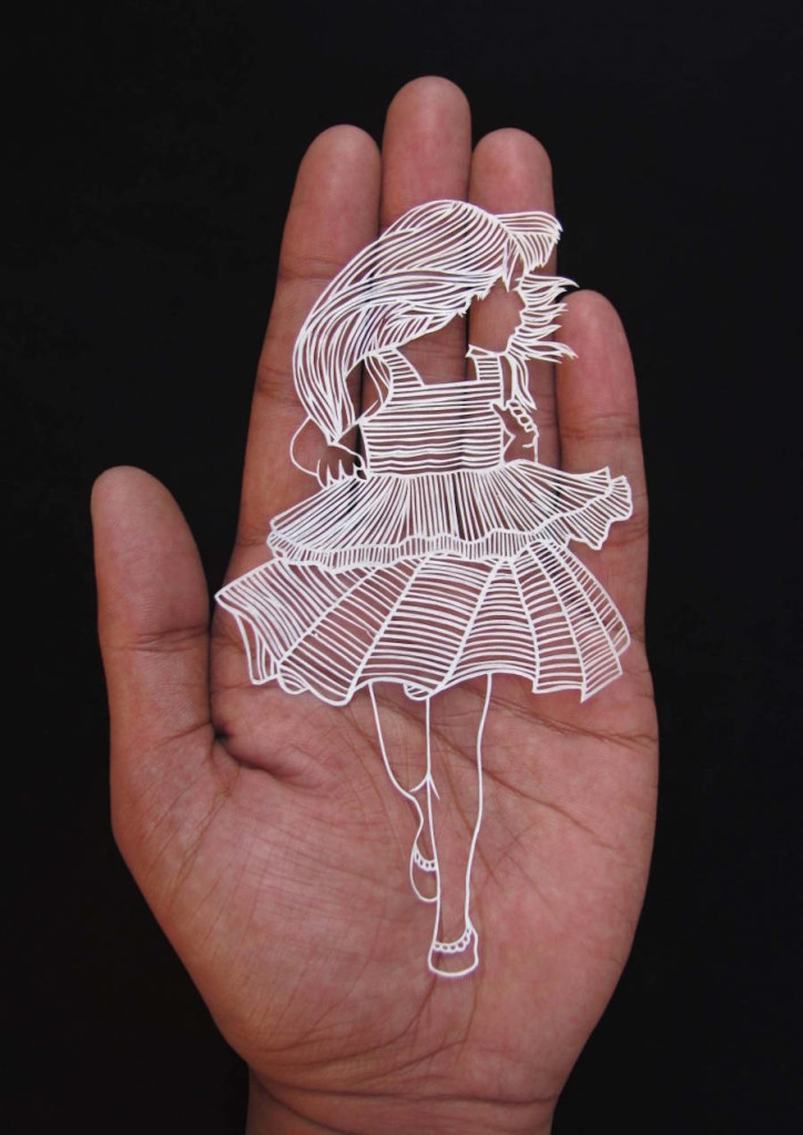 Incredible Paper Cut Art from One Sheet of Paper by Parth Kothekar 02 724x1024 Incredible Paper Cut Art from One Sheet of Paper
