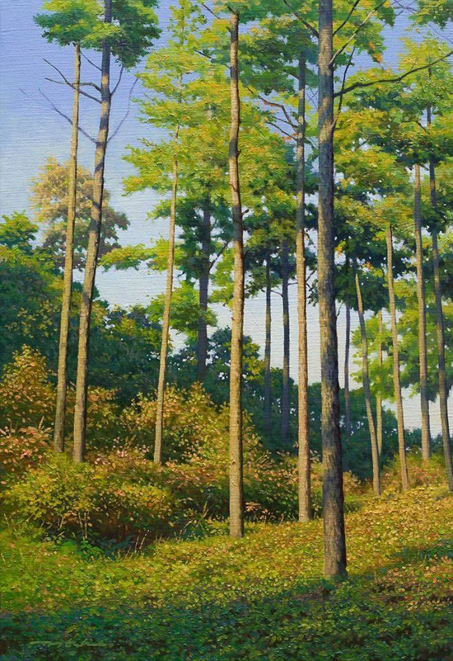 Nature Painting by Jung Hwan 33 Incredible Nature Painting by Jung Hwan