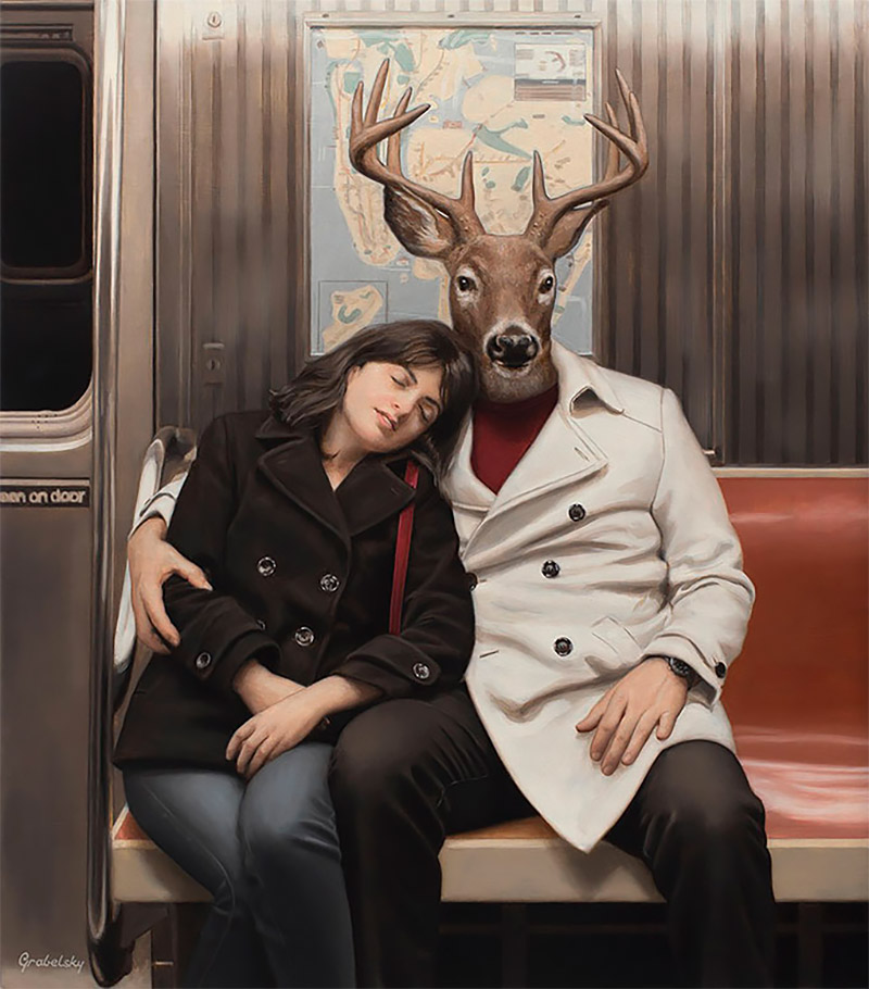 Stunning Surreal Painting Artworks 01 Unique Surreal Painting Artworks by Matthew Grabelsky