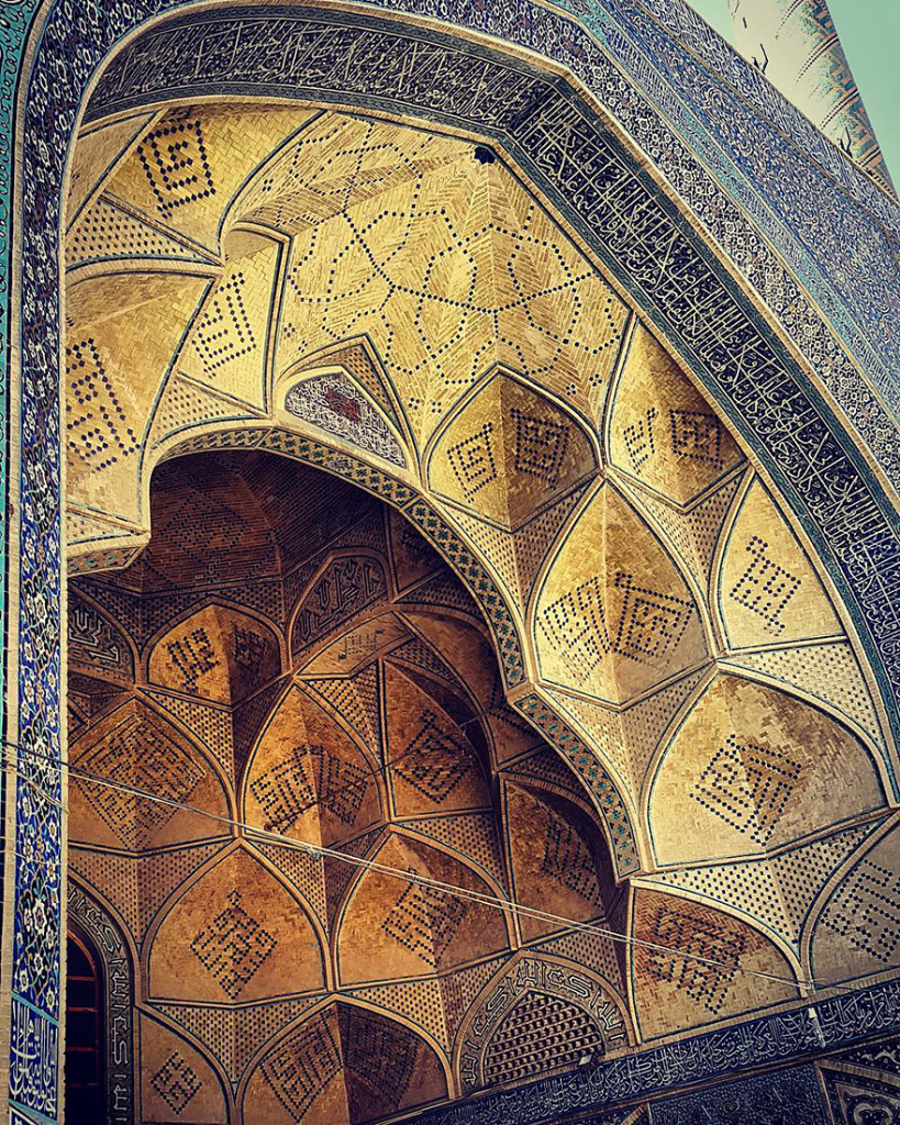 The Hypnotizing Beauty Of Iranian Mosque Ceilings 13 819x1024 The Hypnotizing Beauty Of Iranian Mosque Ceilings