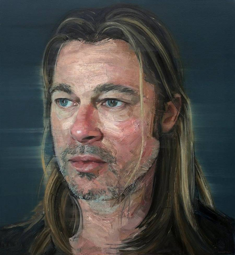 Wonderful Realistic Paintings of Celebrities by Colin Davidson 01 Wonderful Realistic Paintings of Celebrities by Colin Davidson
