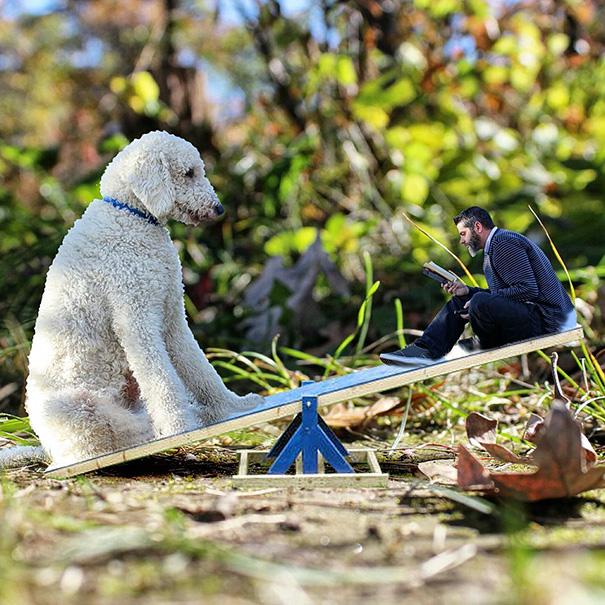 Amazing Imaginative Adventures With Giant Dog by Christopher Cline Wonderful Imaginative Adventures With Giant Dog by Christopher Cline
