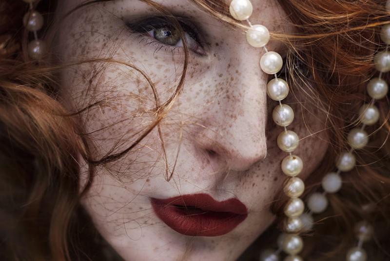 Beauty Portrait of Freckles 99 Beauty Portrait of Freckles by Martina Špoljarić Pracaić