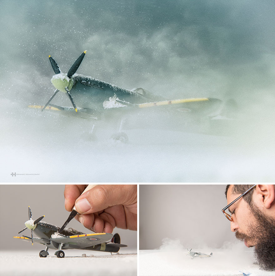 Creative Conceptual Miniature Photography 99 Creative Captures Small Toys With Big Imagination