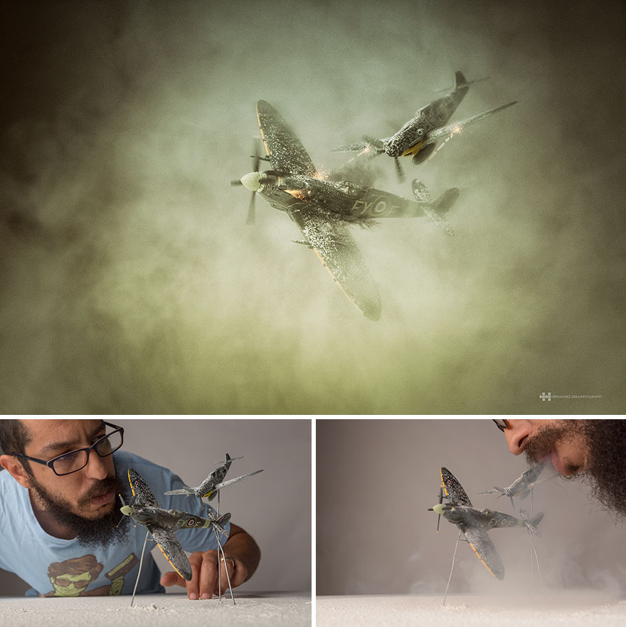 Creative Conceptual Photography by felix hernandez rodriguez 99 Creative Captures Small Toys With Big Imagination
