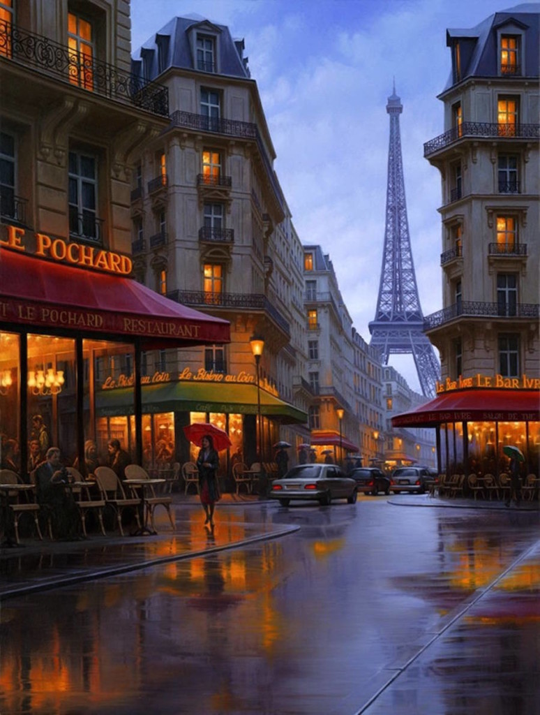 Creative Painting of Cityscapes 99 774x1024 18 Gorgeous Night Cityscapes Paintings by Alexey Butyrsky
