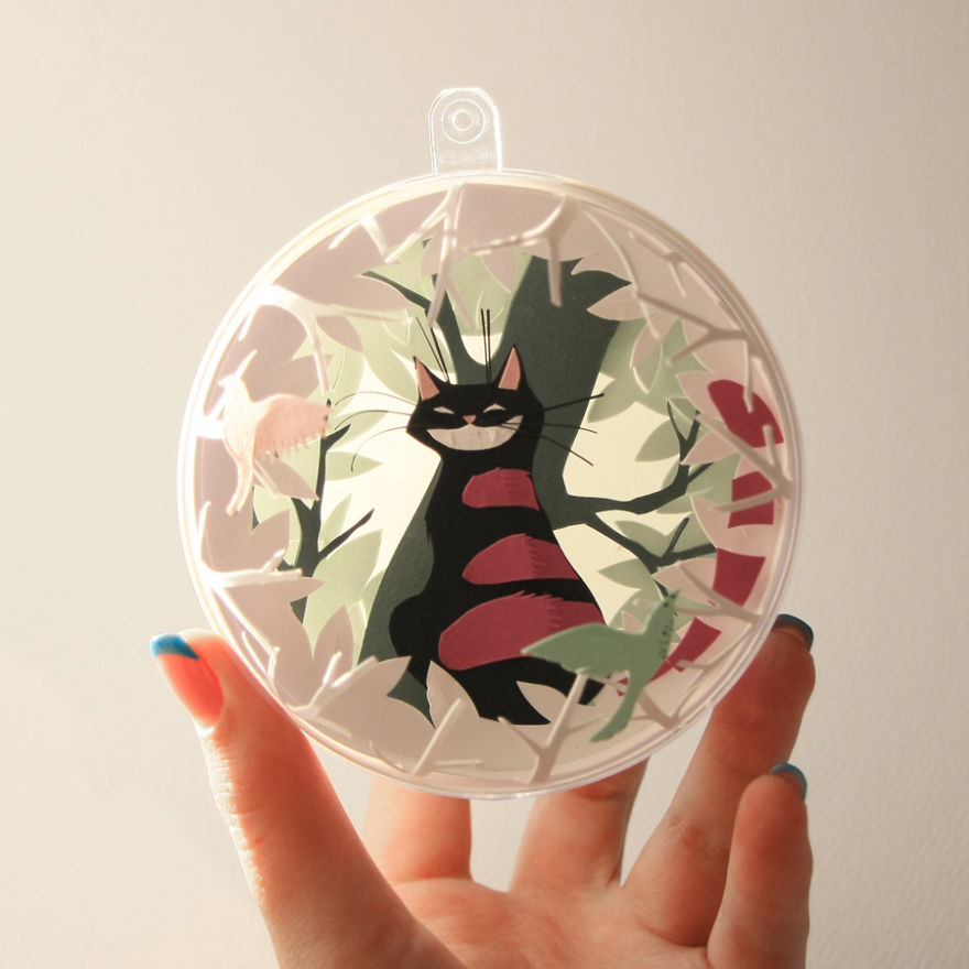 "Creative Paper Cuts Create by Adamova Marina Creative Paper Cuts Inspired By ""Alice In Wonderland"""
