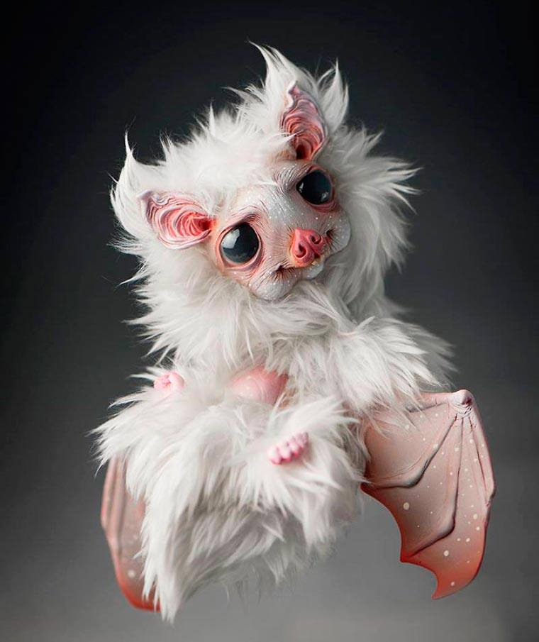 Cute Furry Monsters Doll by Katarzyna and Jacek Anyszkiewicz Cute Ghostly Monsters Doll by Katarzyna and Jacek Anyszkiewicz