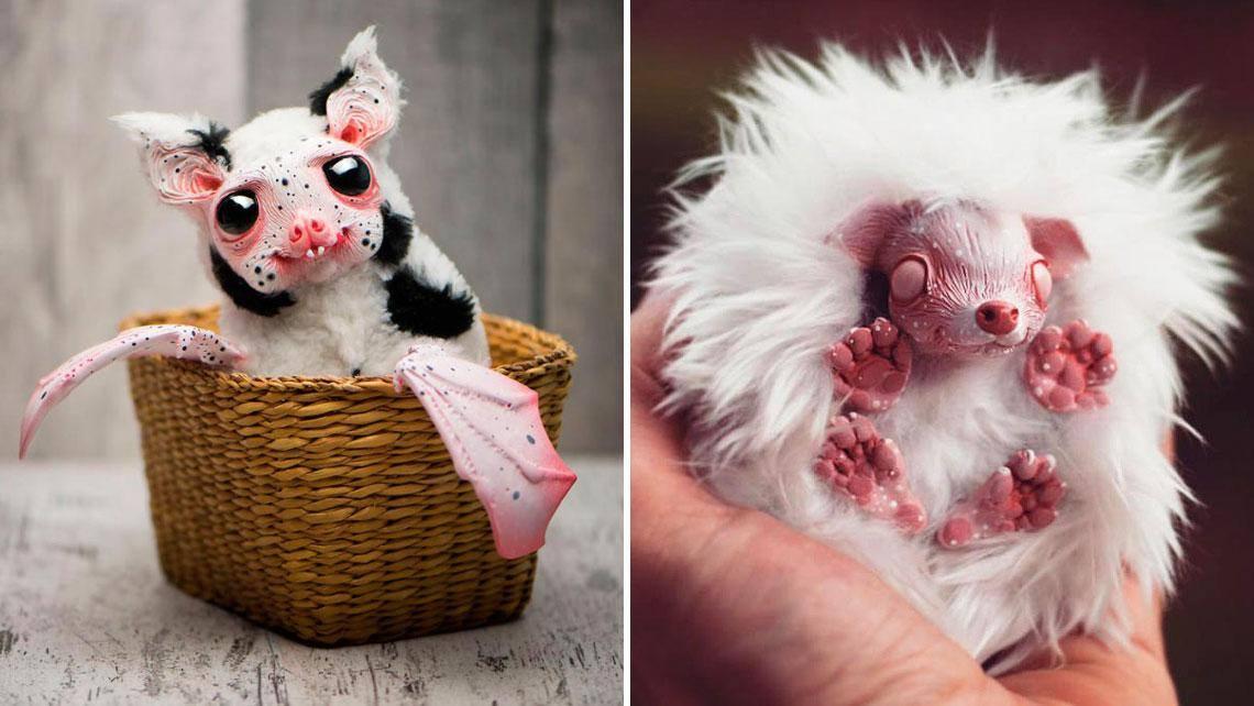 Cute Ghostly Monsters Doll by Katarzyna and Jacek Anyszkiewicz