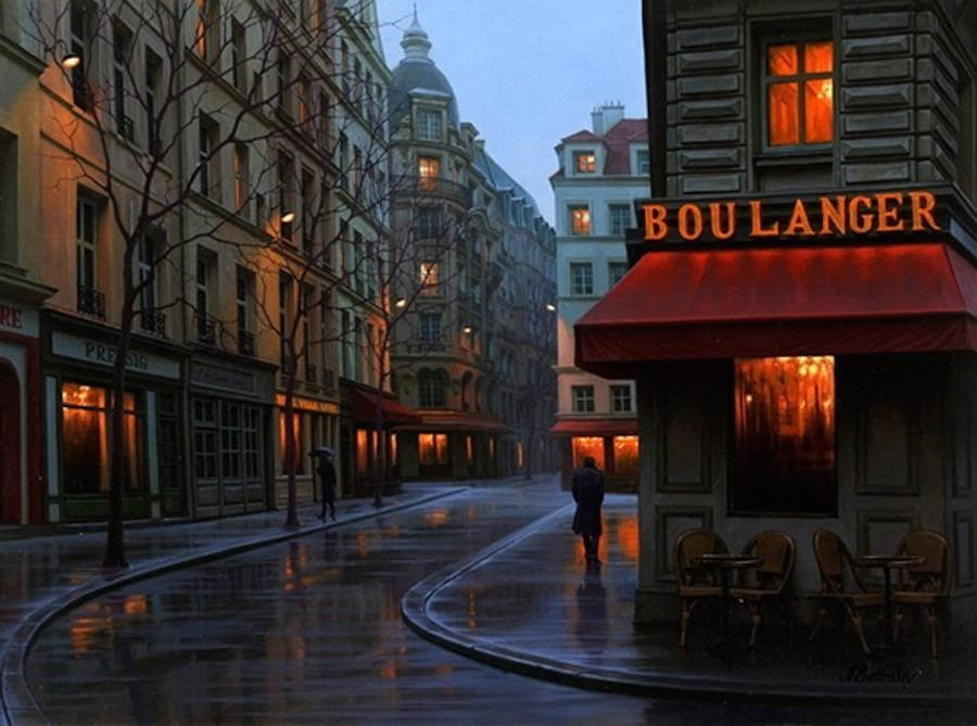 Gorgeous Cityscapes Paintings Ideas by Alexey Butyrsky 99 18 Gorgeous Night Cityscapes Paintings by Alexey Butyrsky