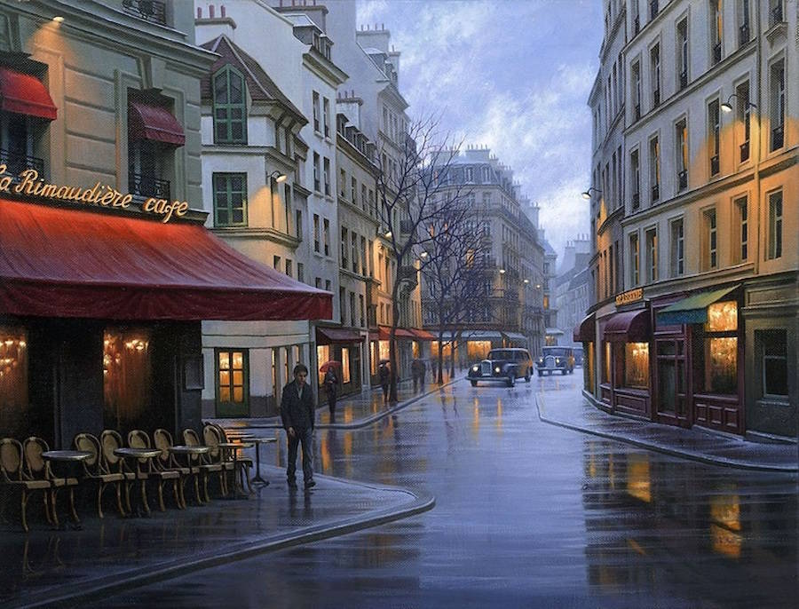 Gorgeous Cityscapes Paintings by Alexey Butyrsky 99 18 Gorgeous Night Cityscapes Paintings by Alexey Butyrsky