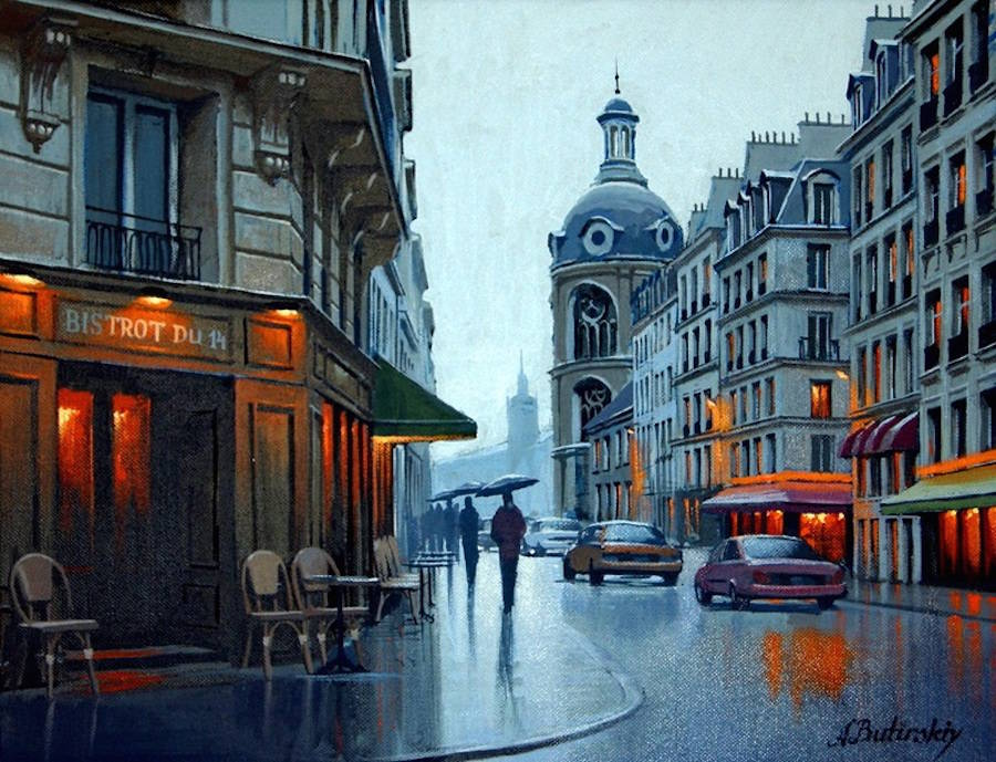 Gorgeous Night Cityscapes Paintings by Alexey Butyrsky 11 18 Gorgeous Night Cityscapes Paintings by Alexey Butyrsky