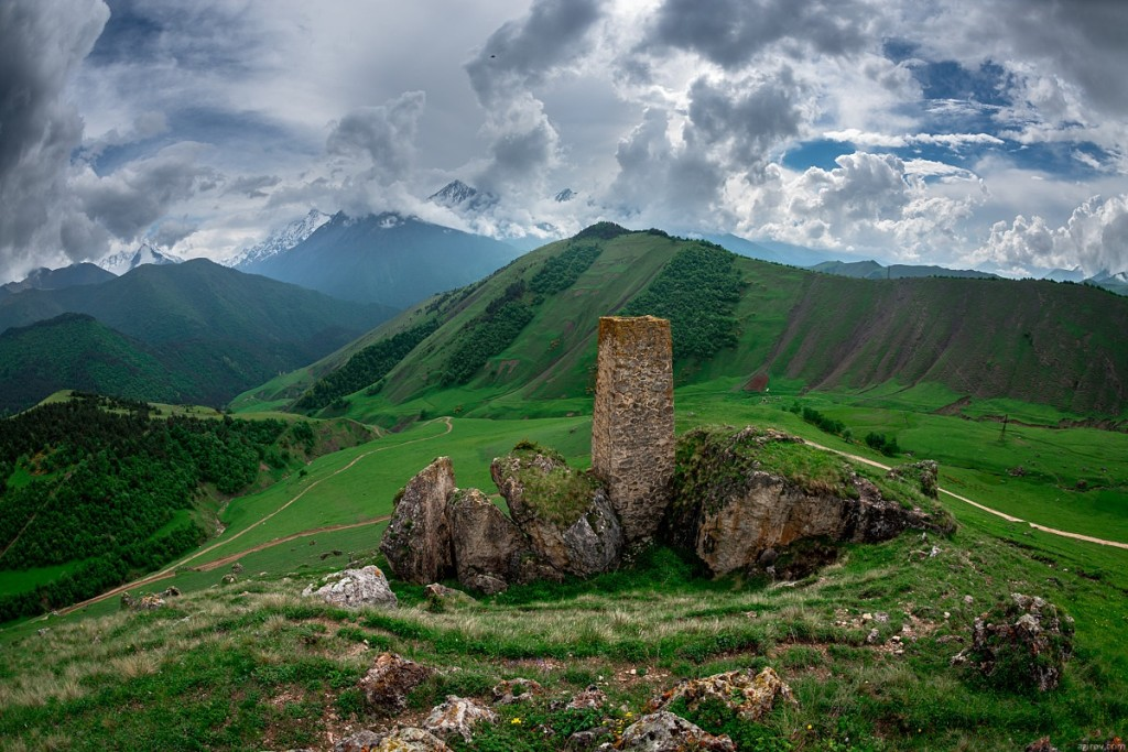 Incredible Landscape Republic of Ingushetia 1024x683 Magnificent Mountain Landscape Photographs