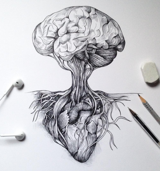 Mind blowing Sketches Pen Drawings by Alfred Basha 04