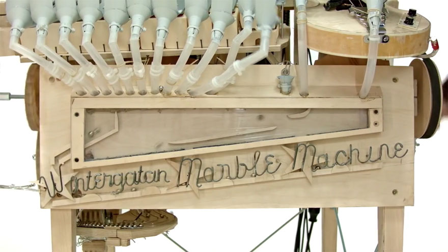Music Instrument Using 2000 Marbles by Wintergatan 07 Mind blowing Music Instrument Using 2000 Marbles by Wintergatan