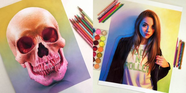 Stunning Colorful 3D Drawing by Morgan Davidson 99 Extraordinary Colorful 3D Drawing by Morgan Davidson