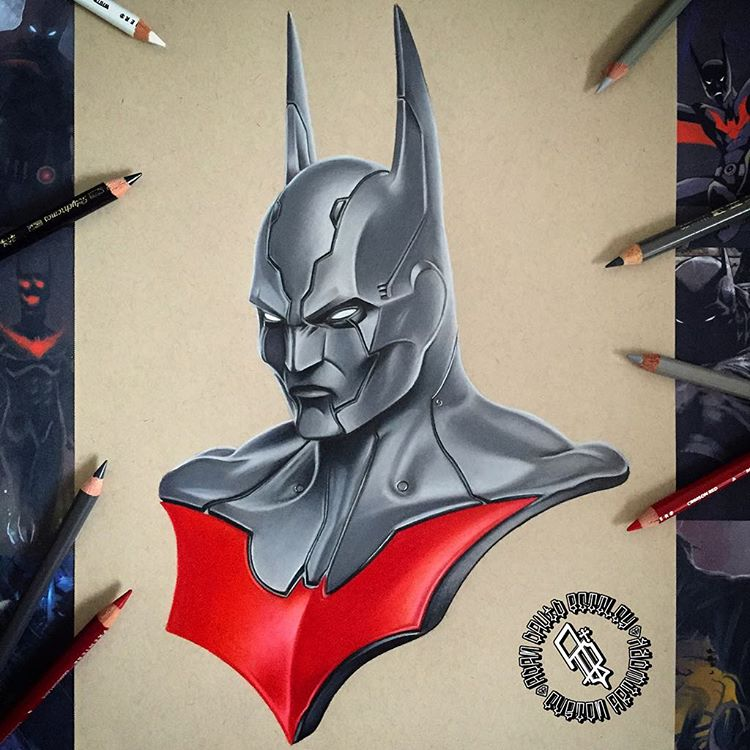 Stunning Superhero Drawings and Illustrations by Adam Bettley 04 Stunning Superhero Drawings and Illustrations by Adam Bettley