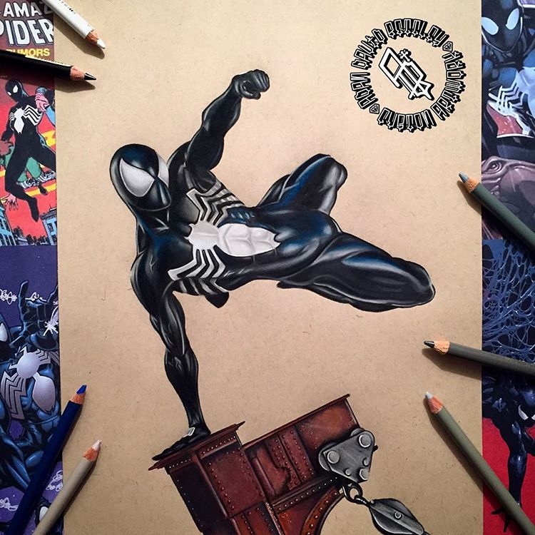Superhero Drawings and Illustrations by Adam Bettley 77 Stunning Superhero Drawings and Illustrations by Adam Bettley