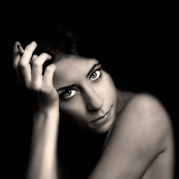 Sweet Female Black and White Photography 99 30 Fantastic Black and White Portrait Ideas