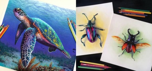 Extraordinary Colorful 3D Drawing by Morgan Davidson