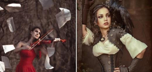 Glamorous Female Portraits Photography by Galiya Zhelnova