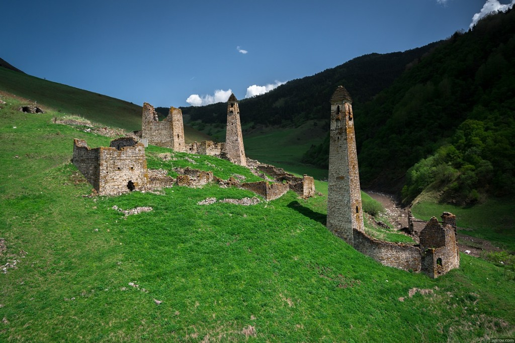 Wonderful Landscape Republic of Ingushetia photograph 1024x683 Magnificent Mountain Landscape Photographs