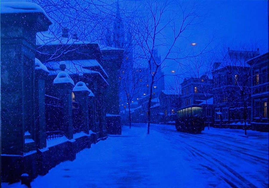 Wonderful Painting of Cityscapes by Alexey Butyrsky 12 18 Gorgeous Night Cityscapes Paintings by Alexey Butyrsky