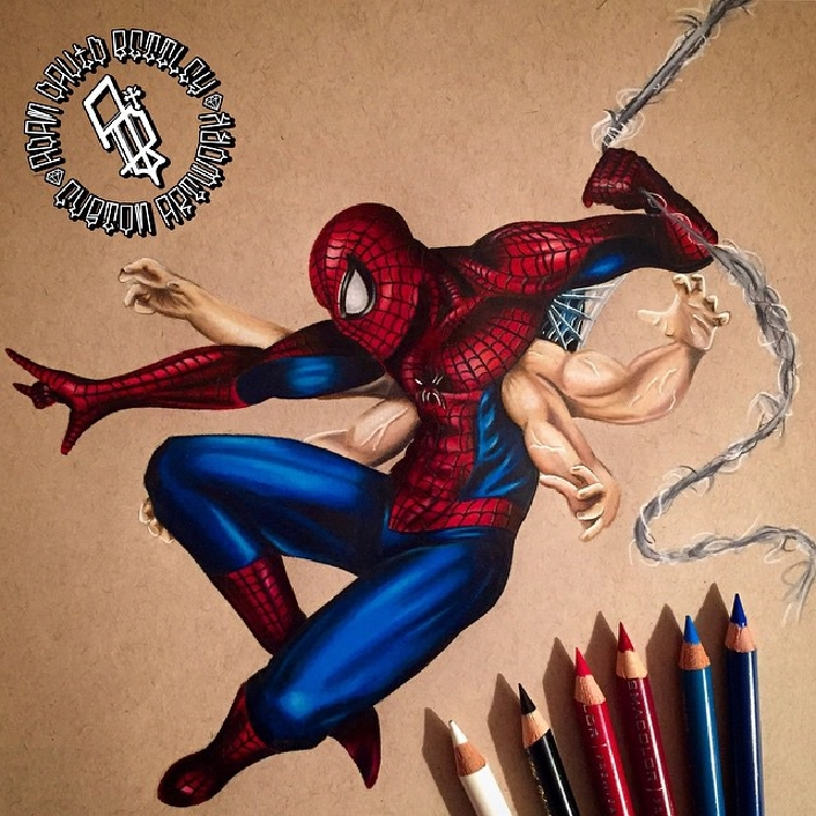 Wonderful Superhero Drawings and Illustrations by Adam Bettley 11 Stunning Superhero Drawings and Illustrations by Adam Bettley