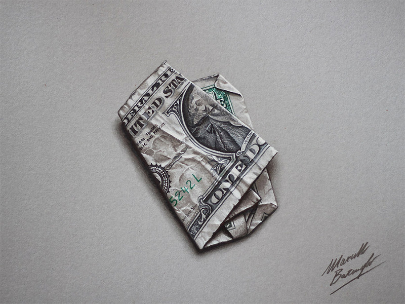 3D Pencil Drawings by Marcello Barenghi Photorealistic Color Pencil Drawings of Everyday Objects by Marcello Barengi
