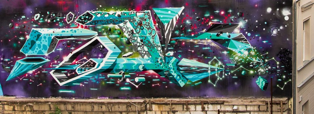 Amazing Street Art and Graffiti Designs by Fork4 99 1024x371 Wonderful Street Art and Graffiti Designs by Fork4
