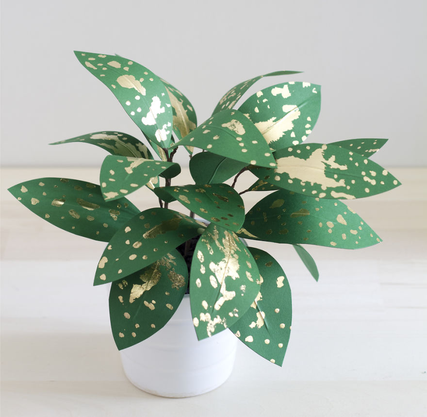 Beautiful Plants from Paper 99 Creative Idea, Create Green Room With Plants From Paper
