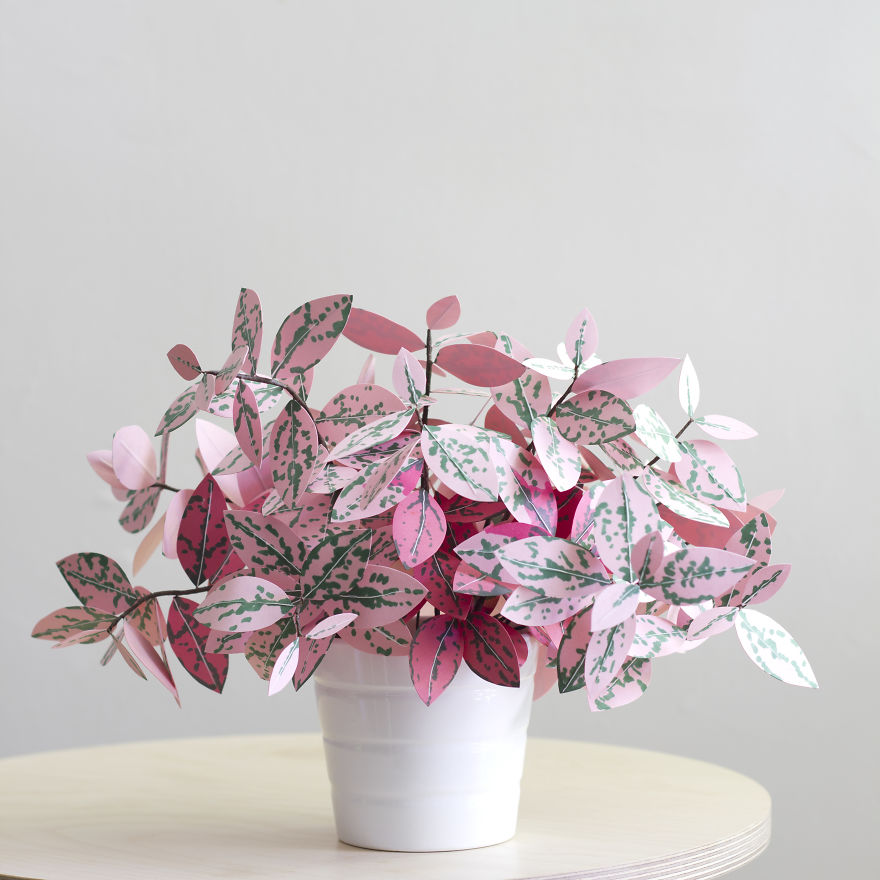 Beauty Plants made from paper 99 Creative Idea, Create Green Room With Plants From Paper