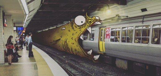 Creative Illustrations : Monsters On Everyday Life