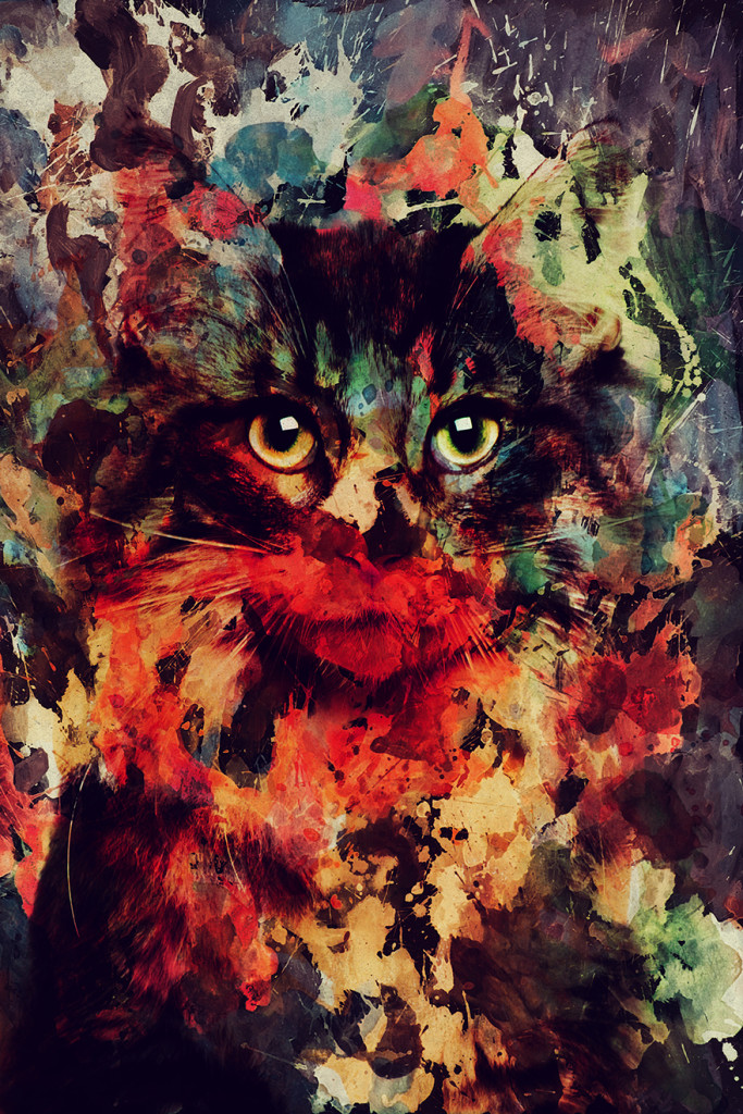 Stunning Animal Portraits In Watercolor Painting by Andreas Lie