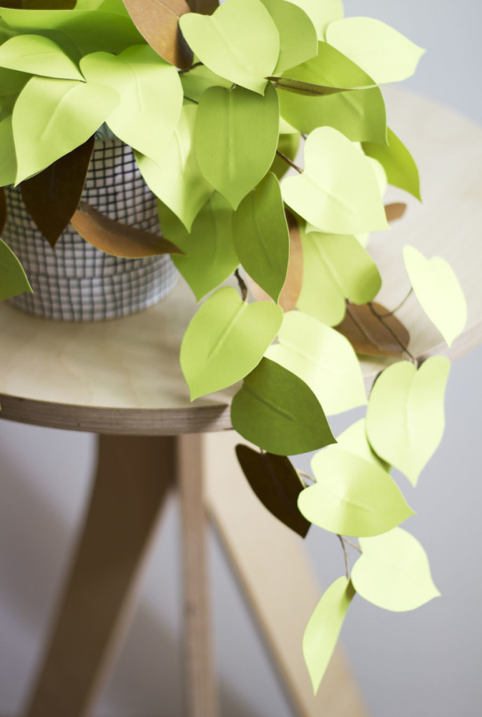 Unique Paper Art Ideas 99 688x1024 Creative Idea, Create Green Room With Plants From Paper