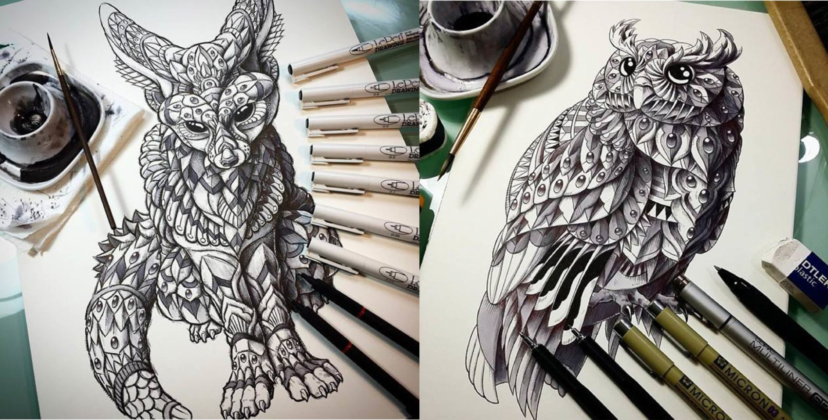 Amazing Animal Illustrations by Ben Kwok 99