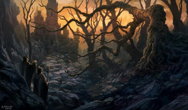 Amazing Concept Art by Andreas Rocha 99