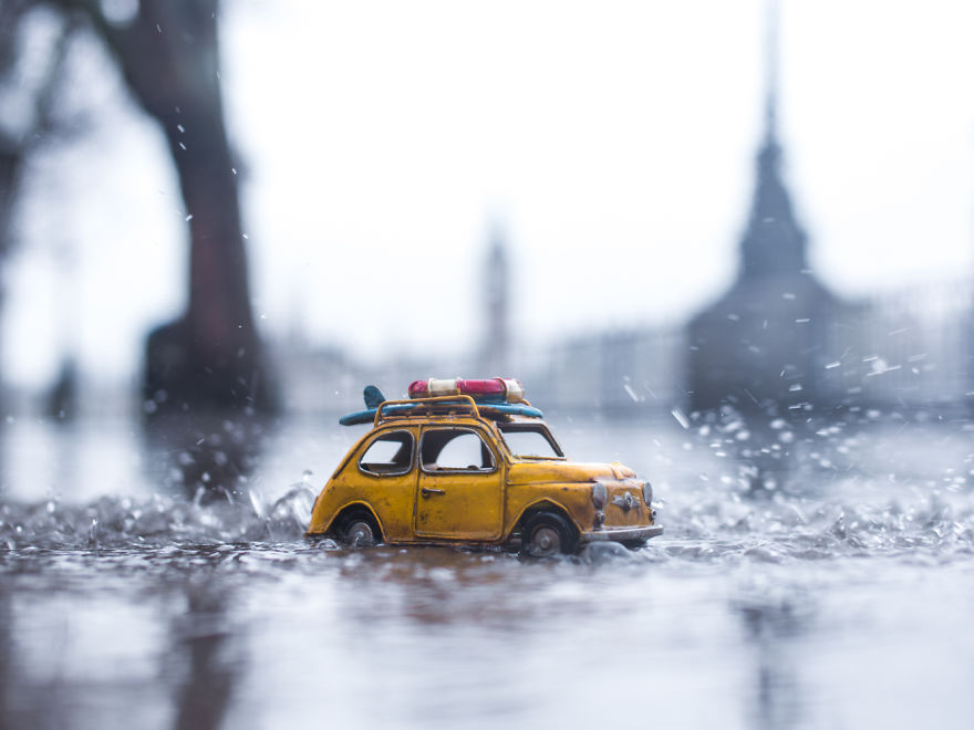 Amazing Miniature Car Photography by Kim Leuenberger Creative and Beautiful Photography ideas With Little Cars