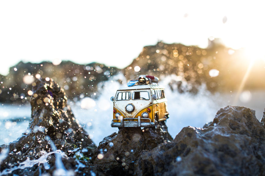 Creative Miniature Photography by Kim Leuenberger 99 Creative and Beautiful Photography ideas With Little Cars