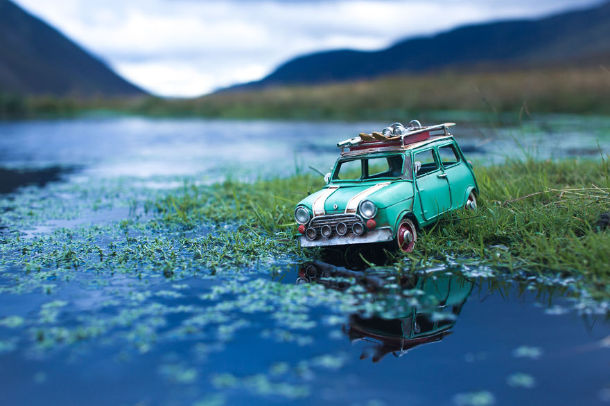 Creative Miniature Photography by Kim Leuenberger Creative and Beautiful Photography ideas With Little Cars