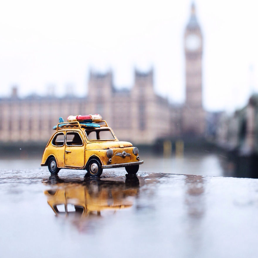 Creative Miniature Toys Photography by Kim Leuenberger 99 Creative and Beautiful Photography ideas With Little Cars