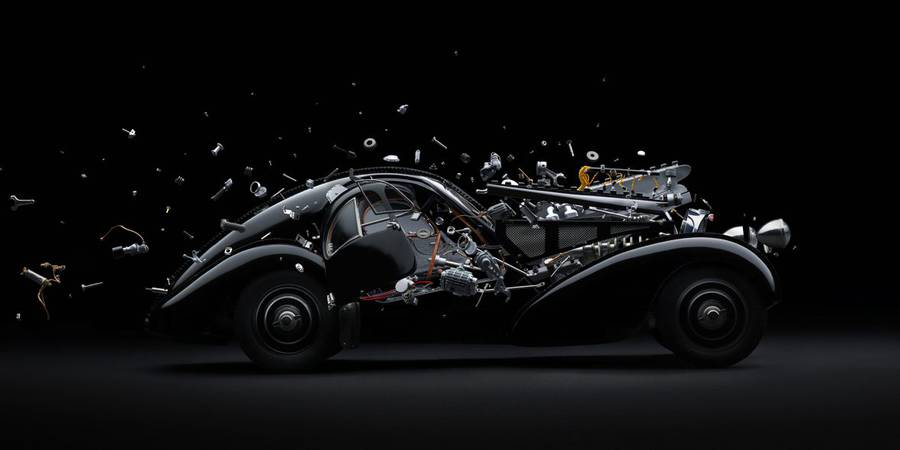 Disintegrating Mind blowing Cars Photography 33 Disintegrating Mind blowing Cars Photography