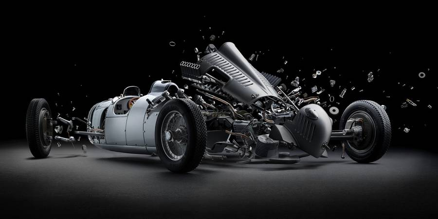 Disintegrating Wonderful Cars Photography Disintegrating Mind blowing Cars Photography