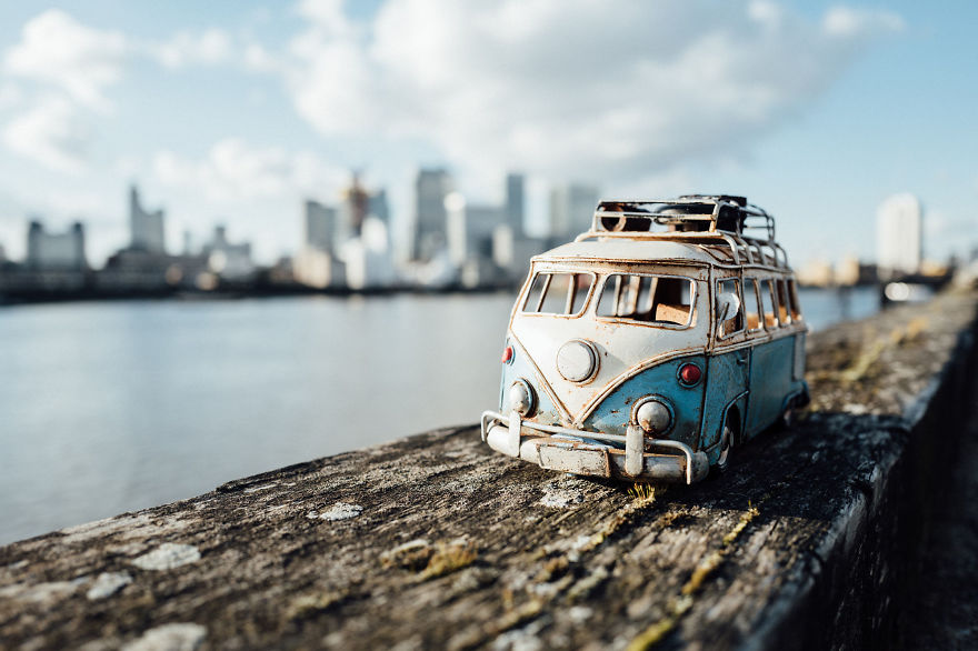 Miniature Photography Ideas by Kim Leuenberger 77 Creative and Beautiful Photography ideas With Little Cars