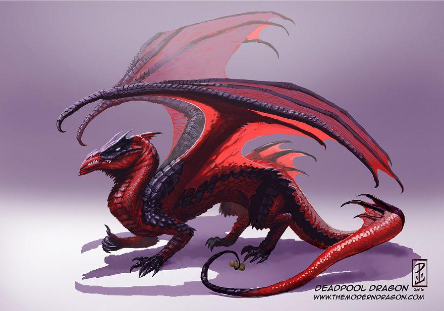 Redesign Popular Marvel Comics Characters As Dragons 99 Redesign Popular Marvel Comics Characters As Dragons