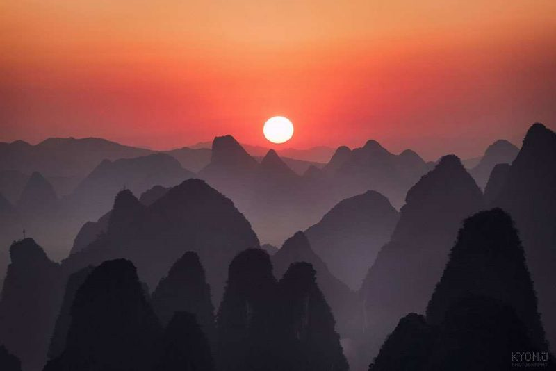Stunning Landscapes of GuilinChina by Kyon.J 99 Wonderful Landscapes of Guilin,China by Kyon.J
